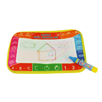 Water Drawing Painting Magic Doodle Aquadoodles Mat Boards Pen Kids Toys - intl Price Philippines