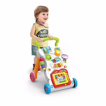 Huanger Baby push walker Music Educational Stand KIds toy for baby Price Philippines