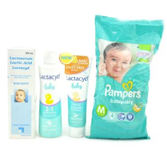 Harga LACTACYD Baby Bath Bundle Collection