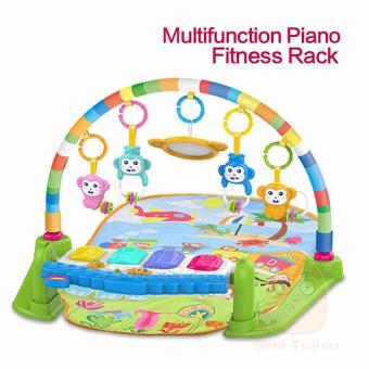 Harga Baby Game Kingdom Discover 'n Grow Kick and Play Piano Activity Play Gym(Pink)