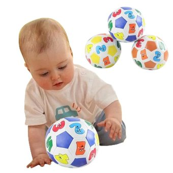 Harga Amart Children Educational Toy Baby Learning Rubber Ball - intl