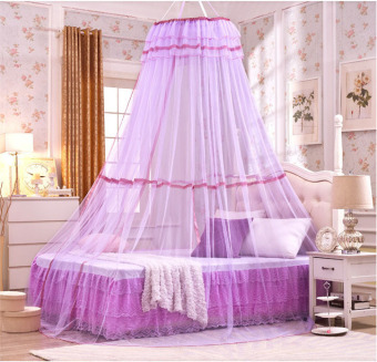 Harga Bed Mosquito Nets for Adult And Children Purple - intl