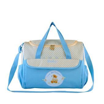 Multifunctional Baby Diaper Bag Mommy Bag Nappy Carrier Handbag Tote Picnic Travel Package with Diaper Changing Price Philippines