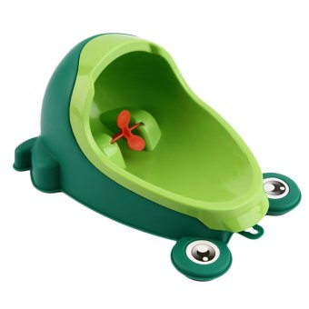Harga OH Frog Boy Kids Baby Toilet Training Children Potty Pee Urine Home Bathroom Green
