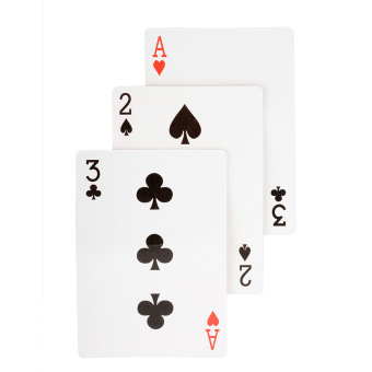 Harga New Quality Magic 3 Three Card Monte Card Trick Easy Classic Magic Trick