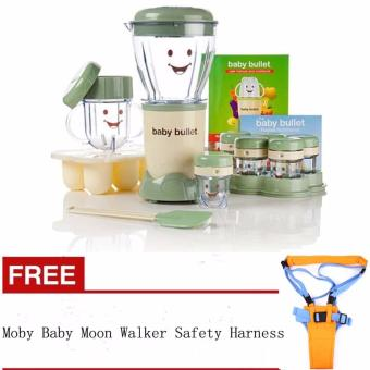 Harga Baby Food Maker Blender 20 pieces with FREE Moby Baby Moon Walker Safety Harness