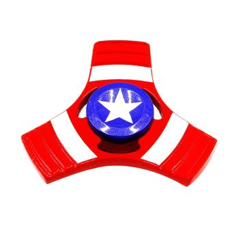 Harga Tech Gear Metal Fidget Spinner Captain America