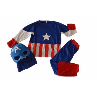 Harga Captain America Costume Large Only