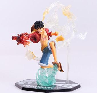 8inch One Piece Anime Monkey D Luffy Battle Version PVC Figure Toy Doll New In Box Price Philippines