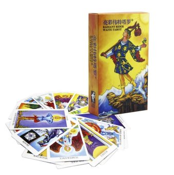 Harga Radiant Rider Waite Tarot Cards 78pcs English Cards - intl