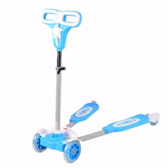 Harga 4 Wheeled Frog-kick Scooter for Kids
