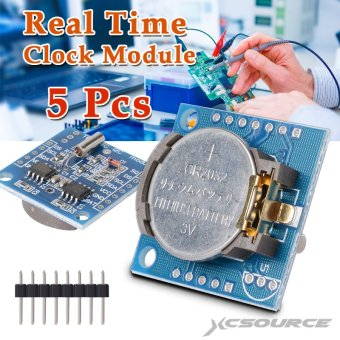 Harga 5Pcs I2C Tiny RTC DS1307 Real Time Clock Module AT24C32 Board for Arduino