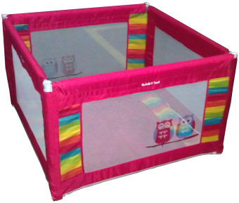 Harga Baby 1st Square Foldable Playpen P-521D RED A