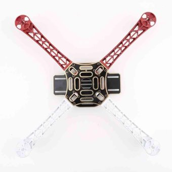 F450 Multi-Copter Quad-copter Kit Frame QuadX Quad MultiCopter KK MK MWC Red - intl Price Philippines