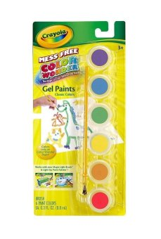 Harga Crayola Color Wonder Gel Paints Classic Colors (Multicolor)