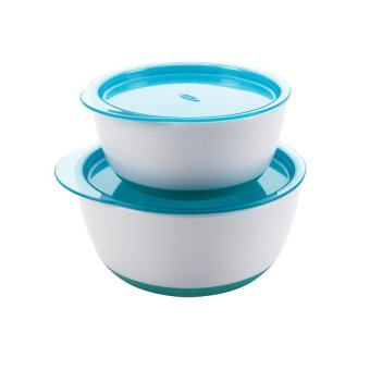 OXO TOT SMALL AND LARGE BOWL SET - AQUA Price Philippines