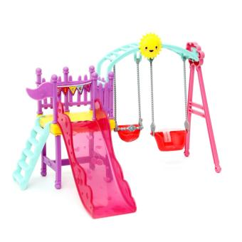 Harga Barbie Club Chelsea Swingset