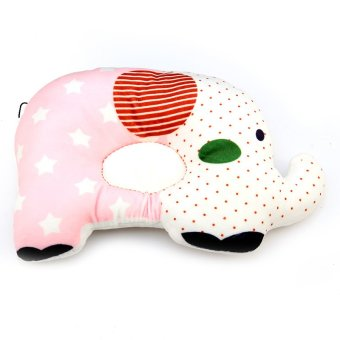 Andux Baby Infant Newborn Anti-flat Pillow Sleep Positioner Prevent Flat Head Cushion BBDXZ-01 Pink Price Philippines