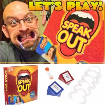 Harga Homex Hasbro Speak Out Game