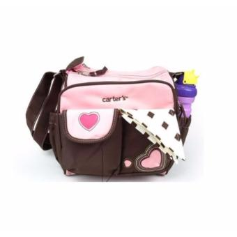 Carter's Small Mommy Diapering Storage Bag (Pink/Heart) Price Philippines
