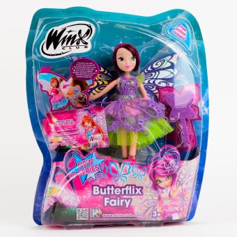 Harga Winx Club Butterfly Fairy Tecna Doll