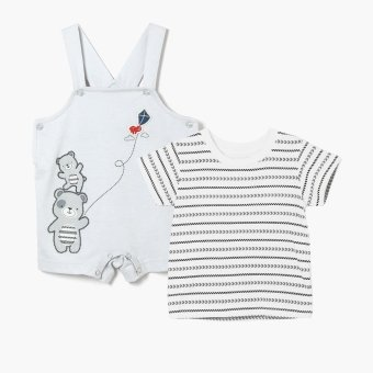 Harga Hush Hush Boys Bear Kite Jumper (Gray)