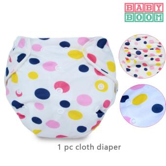 Harga Baby Boom Washable Cloth Diaper- Polly