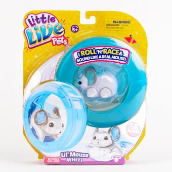 Harga Little Live Pet Season 2 Lil Mouse Wheel Toy (White)
