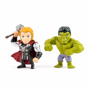 Harga Metals Marvel Avengers Age of Ultron Hulk and Thor Figure Pack M66