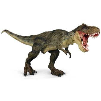 Black Horse Dinosaur PVC Model Dinosaur Figures Kids Toy - Solid tyrannosaurus rex Price Philippines
