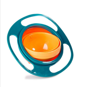 Children 360 Degree Rotation Balance Bowl(Green) Price Philippines