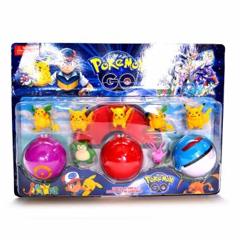 3 in 1 Pokemon Ball Action Figures Price Philippines