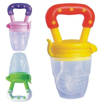 Harga Bluelans Baby Food Nipple Silicone Feeder Pacifier L