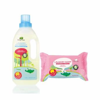Harga Little Tree Baby Laundry Detergent (Grape Fruit) With Free Baby Laundry Soap (Grape Fruit)