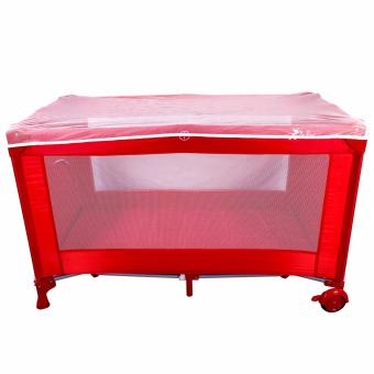 De Rosa Nursery Baby Crib Play yard Playpen with Mosquito Net (Rosso) Price Philippines