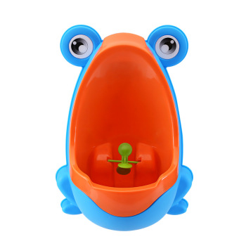 Harga Baby Kid Children Potty Urinal Toilet Training Boy Bathroom Frog Pee Trainer (Blue&Red) - Intl