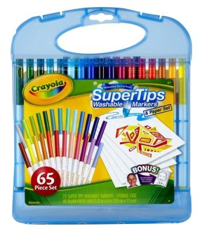 Harga CRAYOLA Super Tips Washable Markers Kit