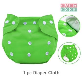 Harga BABY BOOM Baby Cloth Diaper (Green)