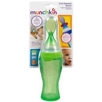 Harga Munchkin Easy Squeezy Spoon (green)