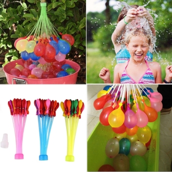 111PCS Water Balloons Minute Magic Balloons Bunch Already Tied Kids Toy New 2016- Party Supplies