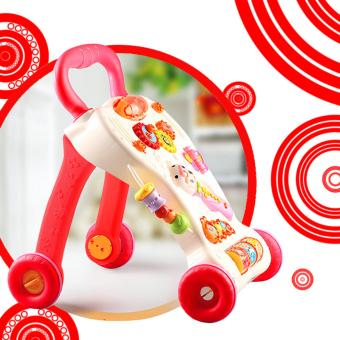 Wawawei Baby Toddler Push Walker Music Educational Stand (Red/White) Price Philippines