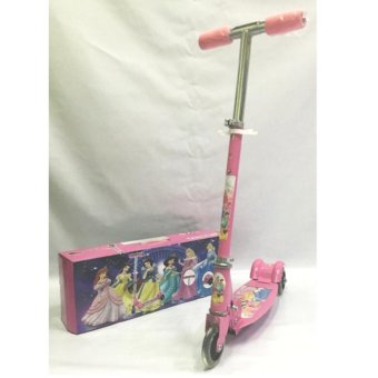 Harga AS FORTUNE Ride-on Push Scooter for Kids with Laser Wheel