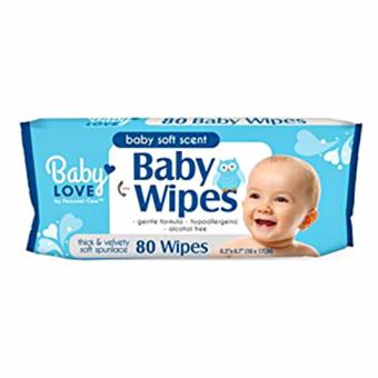Harga Baby Love Baby Wipes Soft Scent