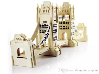 Harga 3D Wooden Puzzle London Bridge