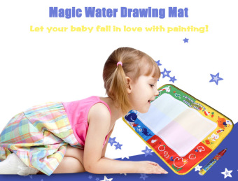 Magic Water Drawing Writing Mat Toy with Watercolor Pen Price Philippines
