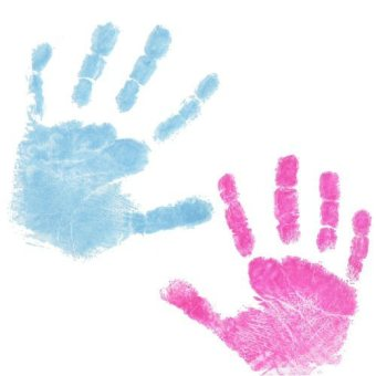 Harga Inkless Baby Foot Print-Blue
