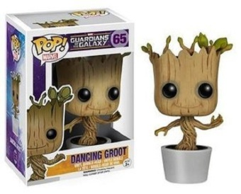 Harga Fancyqube Anime Brand Funko POP Marvel Groot Dancing Potted Trees