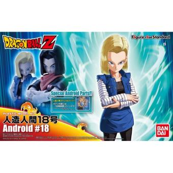Harga Bandai Figure-rise Standard Dragon Ball Z Android # 18 Action Figure ORIGINAL*