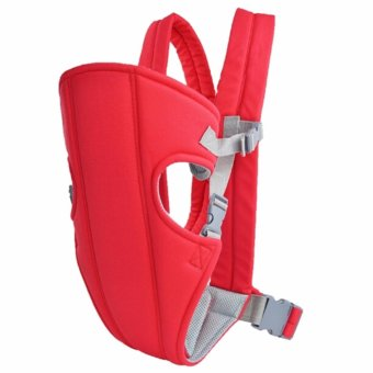 Harga Zea Adjustable Sling Wrap Rider Infant Baby Carrier (Red)