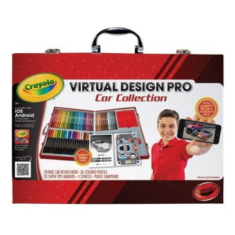 Harga CRAYOLA Virtual Design Pro Car Collection